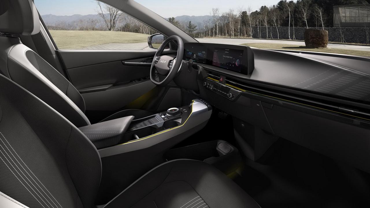 Салон модели Kia EV6 GT-Line