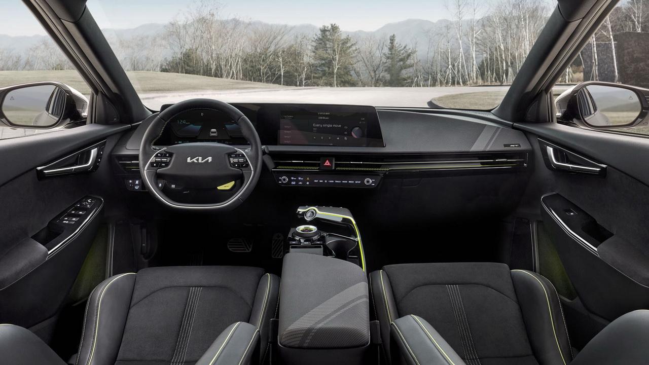 Интерьер Kia EV6 GT