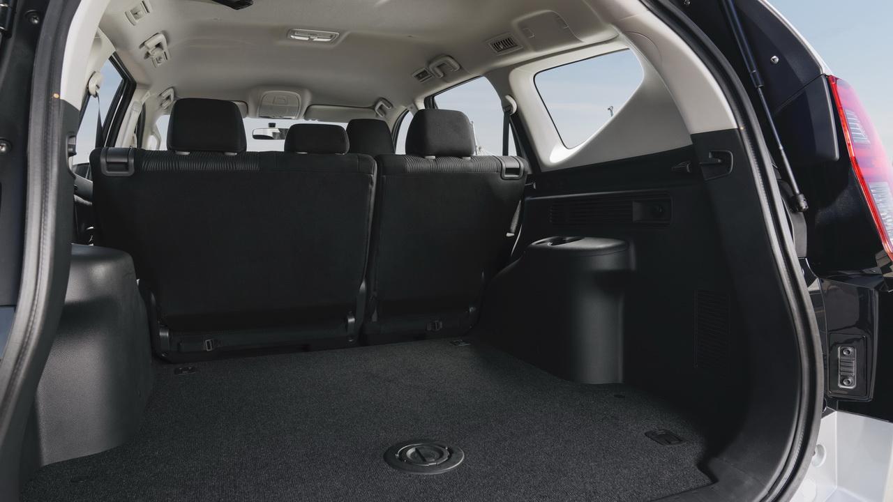 Багажник нового Паджеро Спорт