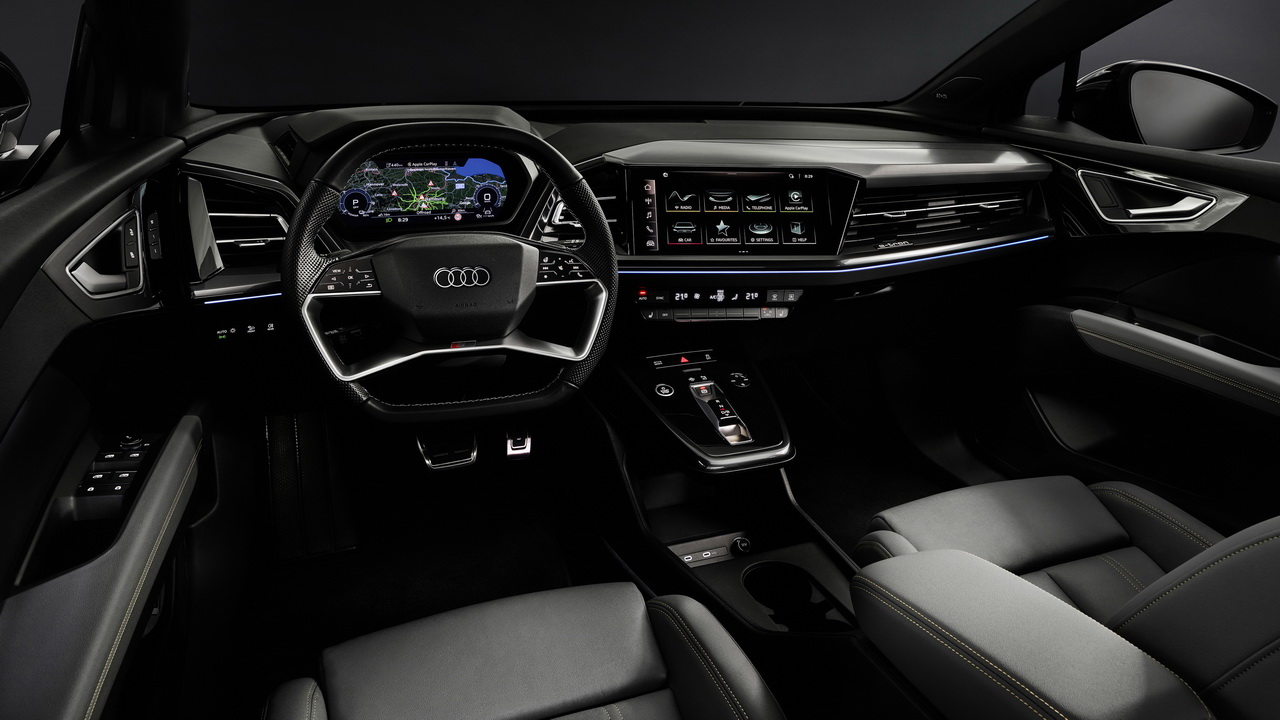 Фото салона Audi Q4 e-tron