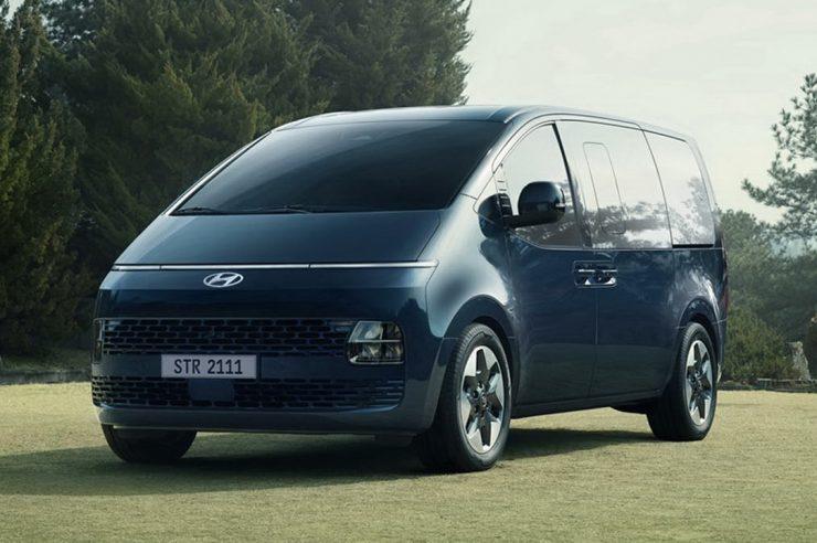 Hyundai Staria 2021: новый минивэн Хендай