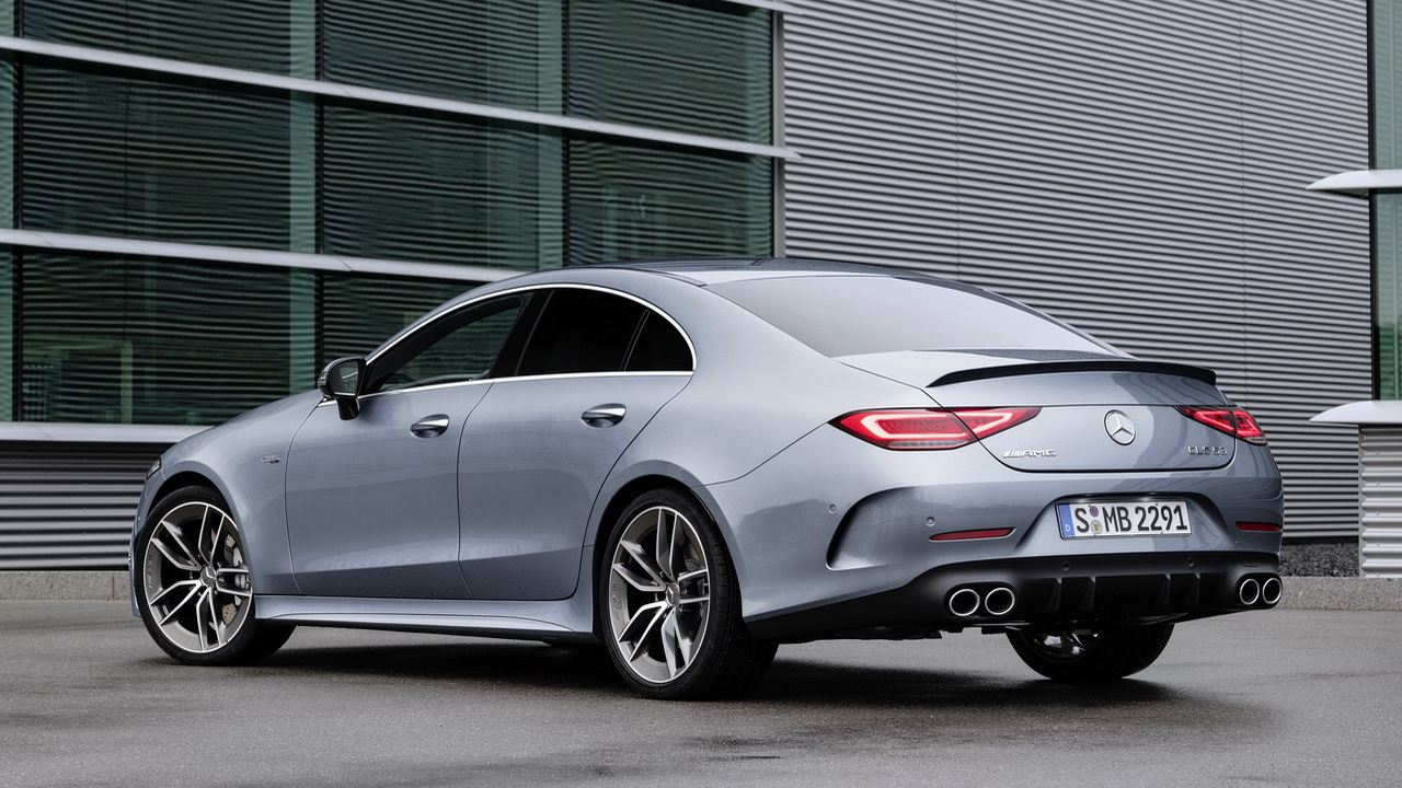 Дизайн кузова Mercedes-AMG CLS 53