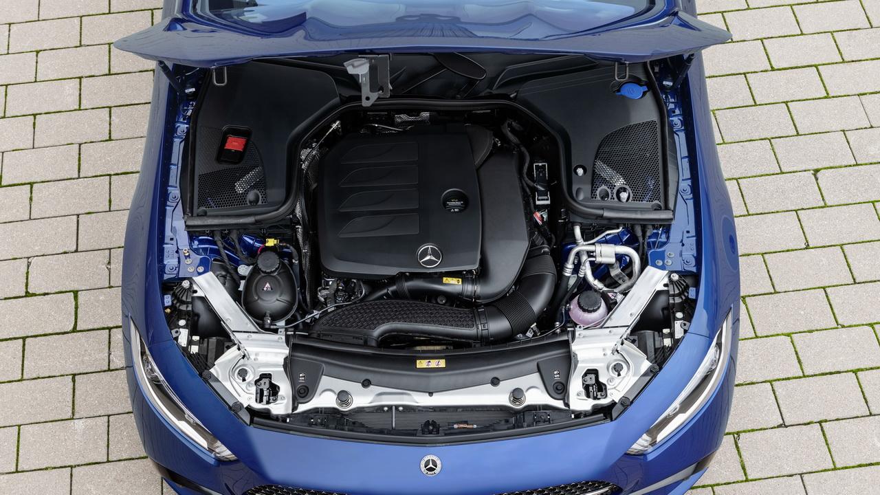 Двигатель нового CLS