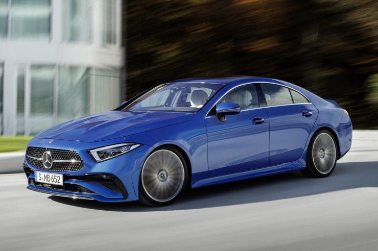 Mercedes-Benz CLS 2022: рестайлинг модели CLS