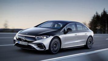 Mercedes-Benz EQS 2022: электрический собрат седана S-класса