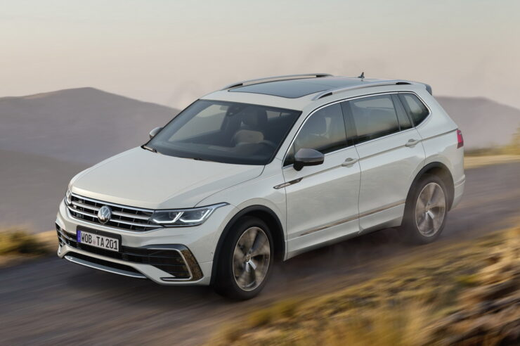 Volkswagen Tiguan Allspace 2022: новая версия длиннобазного Тигуана