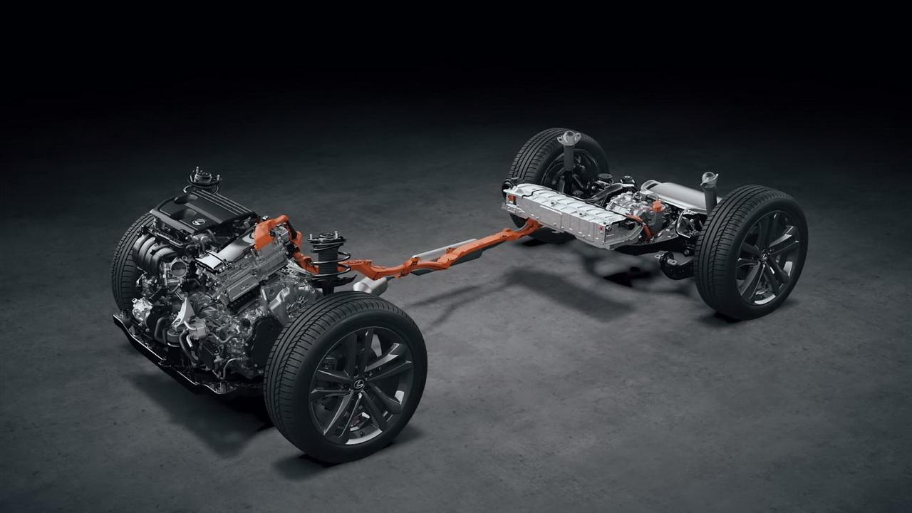 Техника гибрида Lexus NX 350h