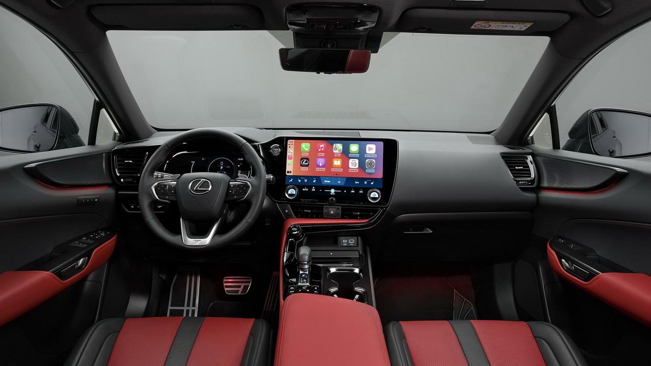 Фото салона Lexus NX 2022