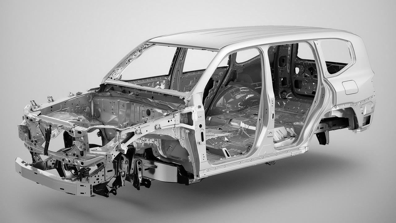 Новый кузов Тойота Ленд Крузер