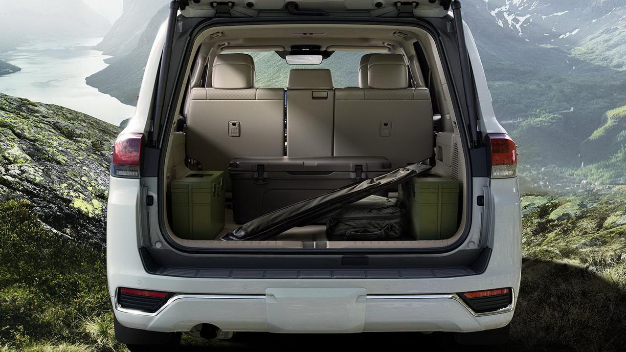 Багажник Toyota Land Cruiser 300