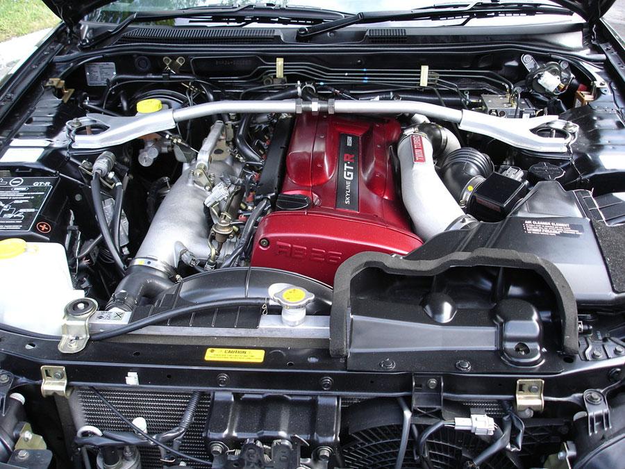 Двигатель nissa skyline