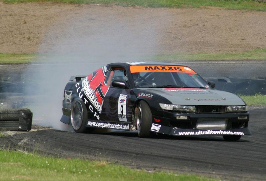 Silvia s14 на скорости 80 км\ч