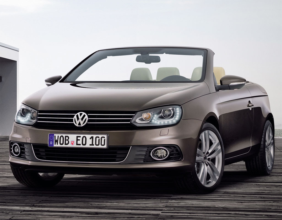 Volkswagen Eos Exclusive вид спереди