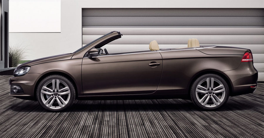 Volkswagen Eos Exclusive вид сбоку