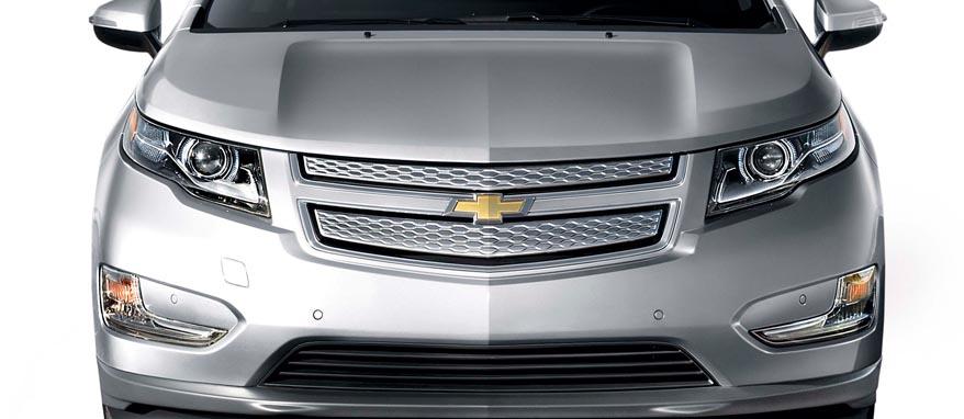 Капот Chevrolet Volt
