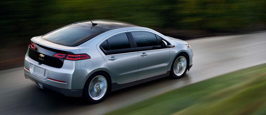торможение Chevrolet Volt