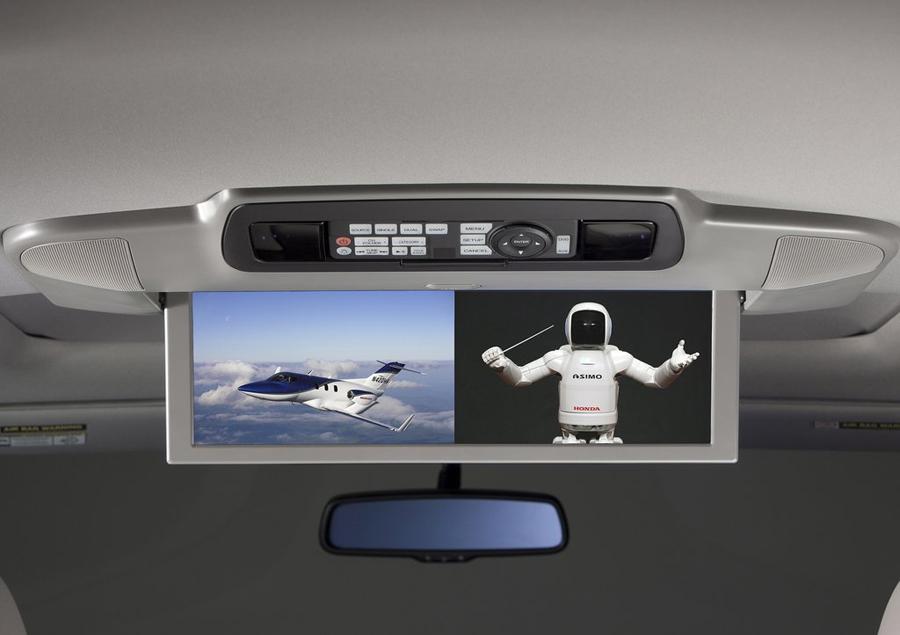 Honda Odyssey 2011 мультимедийный центр
