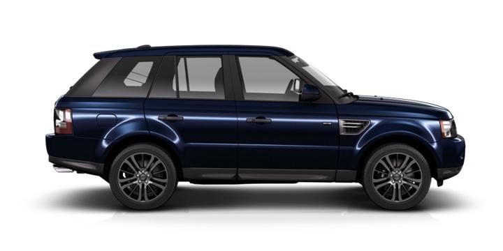 Range Rover Sport синий