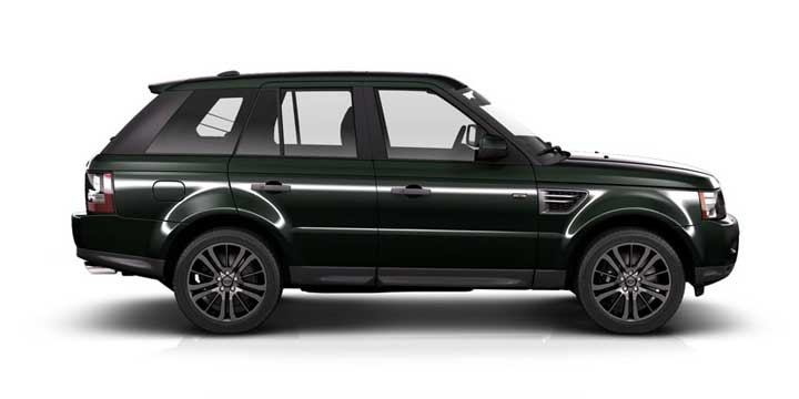 Range Rover Sport зеленый
