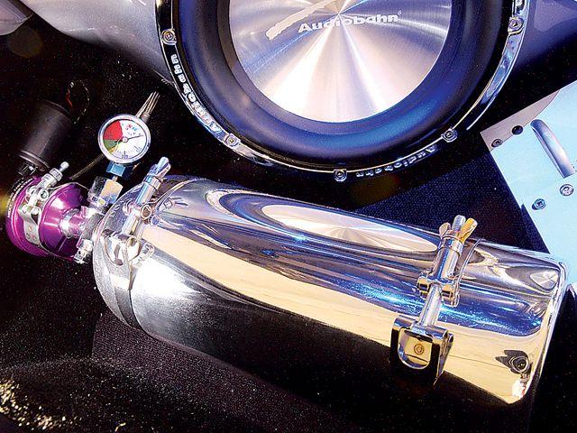 Баллон с закисью азота  honda s2000