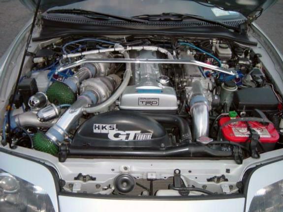 Двигатель Toyota Supra
