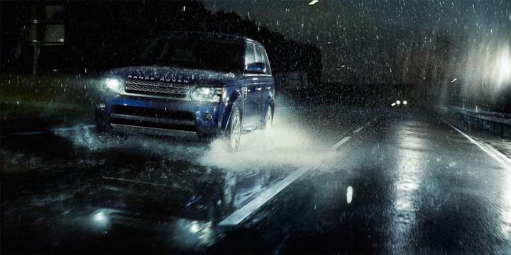 Range Rover Sport мощный автомобиль
