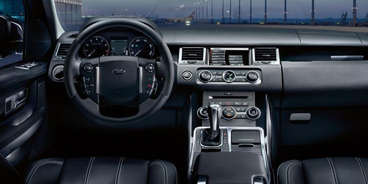 Интерьер Range Rover Sport