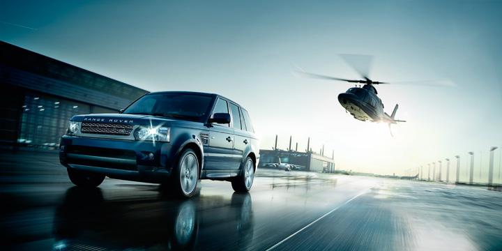 Range Rover Sport динамический контроль
