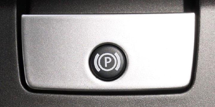 Кнопка автоматического тормоза