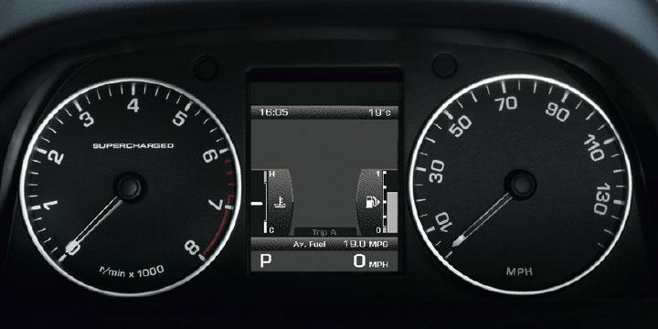 Панель приборов Range Rover Sport