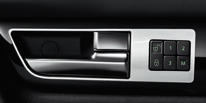 Range Rover Sport кнопки на двери водителя