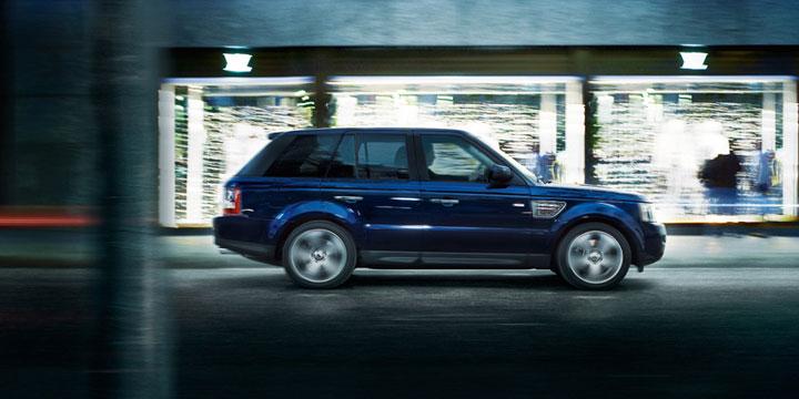 Тонировка Range Rover Sport