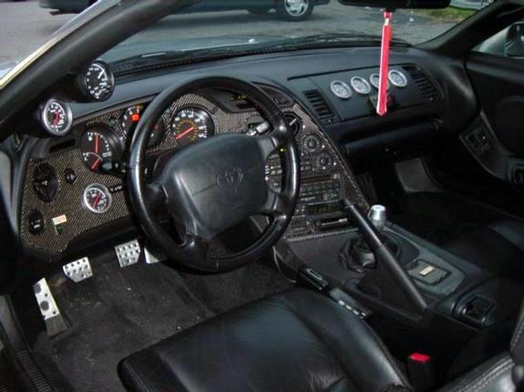 Салон Toyota Supra