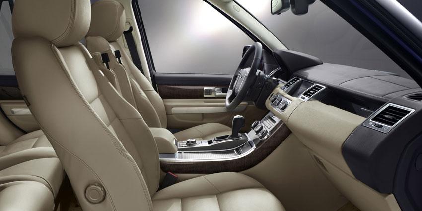 Range Rover Sport цвет миндаль