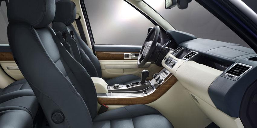 Range Rover Sport кожа океан