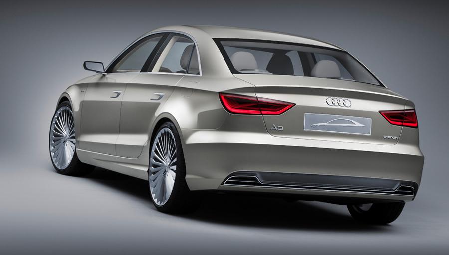 Audi A3 e-tron задние фары