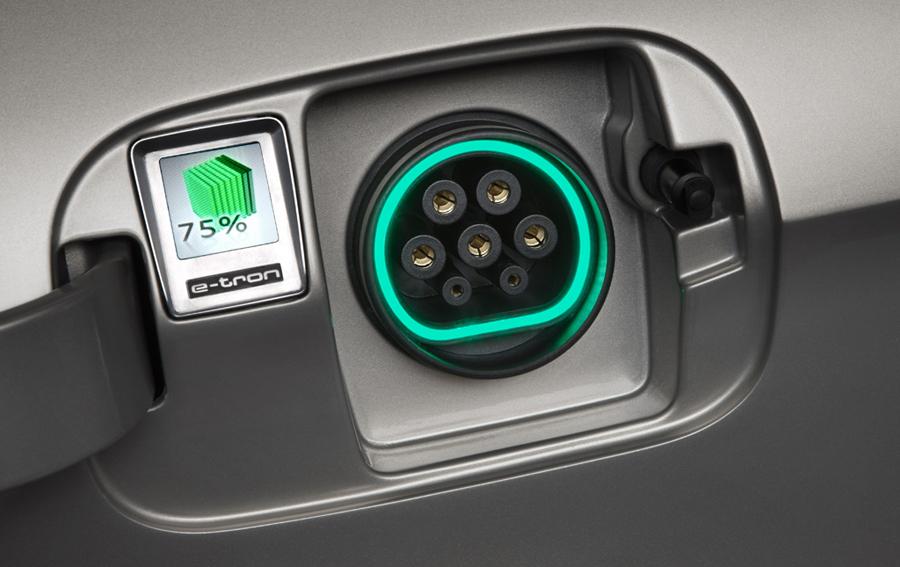 Audi A3 e-tron зарядное устройство