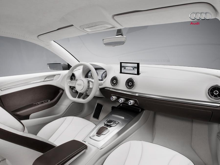 Audi A3 e-tron передние сиденья