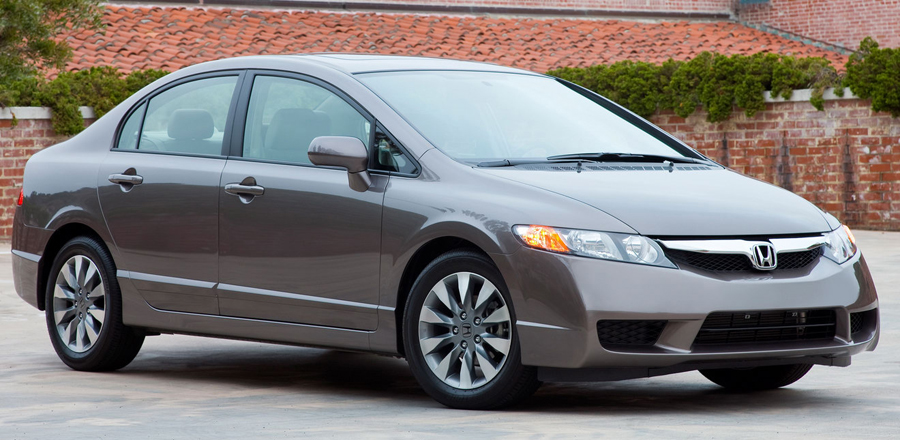 Honda Civic 2011 передний вид