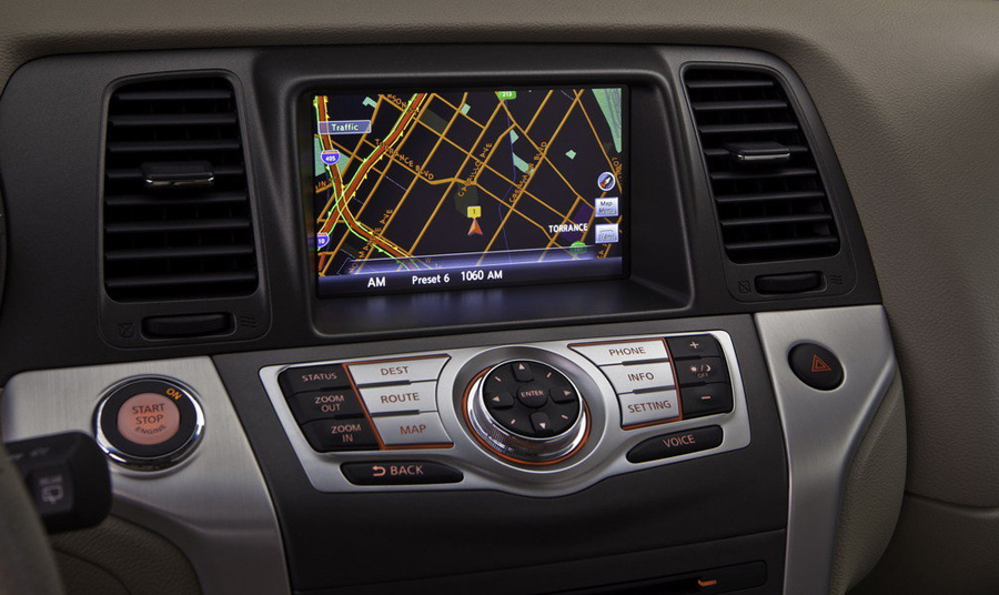 ЖК-дисплей Nissan Murano 2011