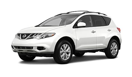 Nissan Murano 2011 белый жемчужный