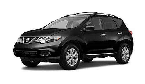 Nissan Murano 2011 черный