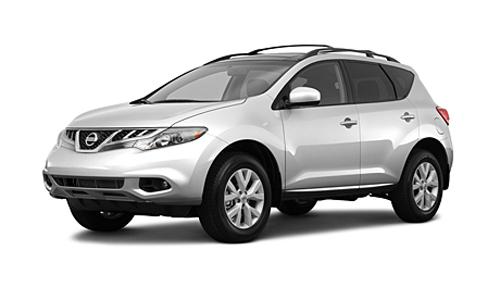 Nissan Murano 2011 серебряный