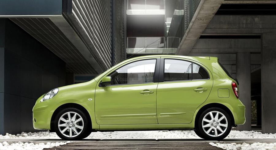 Nissan Micra боковые динии