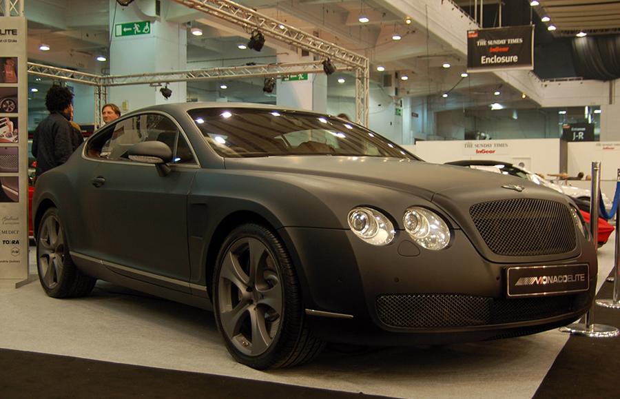 Bentley GT в матовом виниле