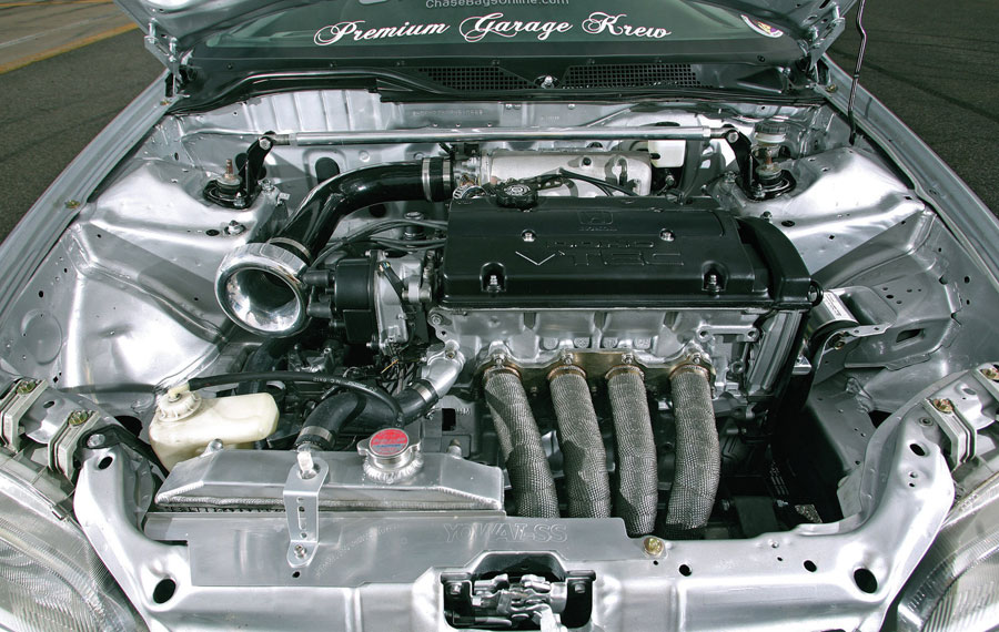 Форсированный двигатель honda civi