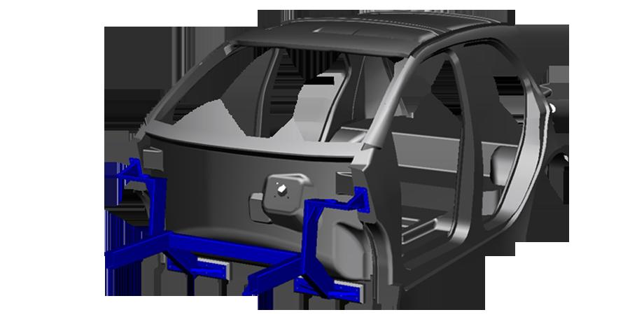 Ё-Мобиль кузов изнутри