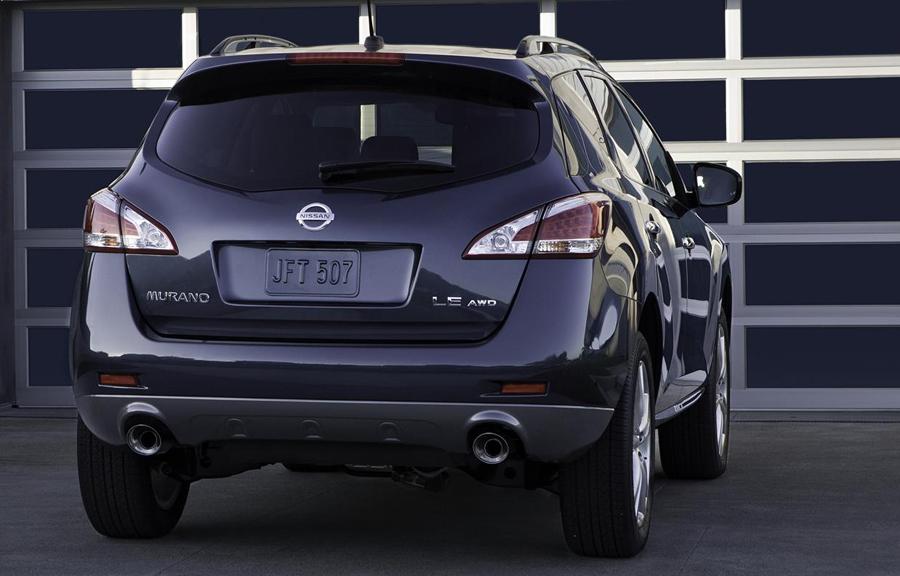 Задние светодиодные фары Nissan Murano 2011