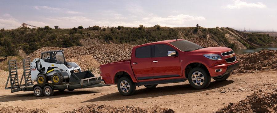 Chevrolet-Colorado 4х дверный и полный привод