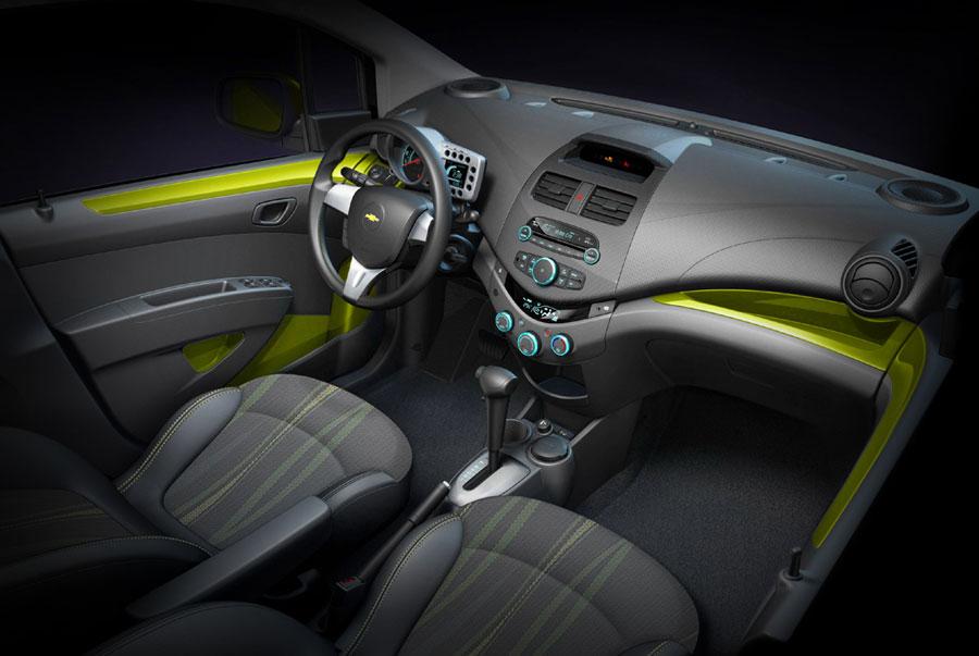 Салон Chevrolet-Spark